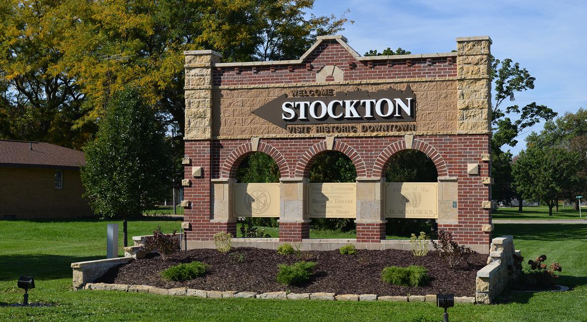 Welcome to Stockton, Illinois